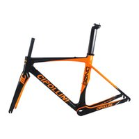Wholesale More Road Bike - 2017 Bicycle Carbon Frame carbon fiber road bike frameset T1000 carbon bike frames BB386 cadre carbone more 13 colors