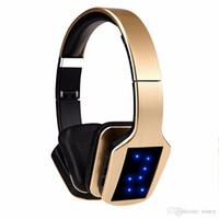 bilgisayar için kablosuz bluetooth mikrofonu toptan satış-Kablosuz Bluetooth Stereo Kulaklık S650 Gaming Headset Bluetooth Kulaklık Bilgisayar için Mikrofon FM Radyo TF Kart ile iphone samsung