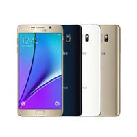 t samsung galaksi notu toptan satış-Orijinal Samsung galaxy Not 5 N920A / T 4 GB RAM 32 GB ROM Android Akıllı Telefon 5.7
