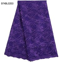 Wholesale African Wedding Voile Lace - Wholesale Most popular african lace fabrics 2017 high quality for wedding nigeria french voile guipure tulle net lace fabric