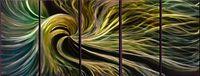 Wholesale original art abstract metal resale online - Modern Art Abstract Original Art Indoor Decor Metal Wall Art Abstract Painting Sculpture Indoor Outdoor in pieces