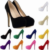 aff9c881aba5 Zapatos Mujer Fashion Womens Concealed Platform Stiletto High Heels Ladies  Party Wedding Shoe Size US 4-11 EU 35-42 D0058