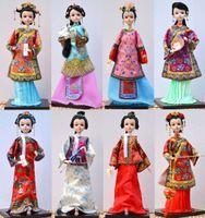 Wholesale Kurhn Doll Chinese - The new Bobbi Chinese kurhn doll costume dolls human Home Furnishing Christmas Gift New Year gift ornaments