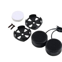 Großhandel-Universal High Efficiency 2x Auto Mini Dome Tweeter Lautsprecher Lautsprecher Lautsprecher Super Power Audio Auto Sound heißen Verkauf