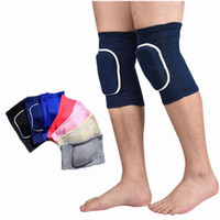 Wholesale Kids Fitness Gym Wholesale - Adults Child Kids Knee Pads Leg Warmers for Dance Elastic Kinesiology Sports Tape Fitness Accessories Gym Bandage XS-L