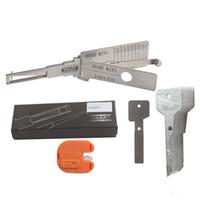 mini decodificador venda por atacado-SMART 2 em 1 Auto Pick Decodificador HU92 Para BMW MINI Lock Pick Tool Set Ferramentas Auto Locksmith
