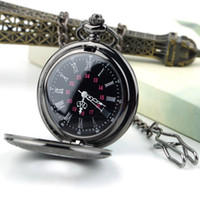 Wholesale Hot Fashion Steampunk Retro Vintage Chain Quartz Pocket Watch Roman Pattern