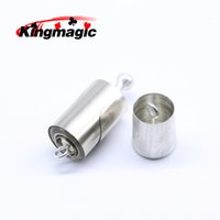 Wholesale gimmick tricks - Wholesale- King Magic Tricks Metal Vanishing Cane Stage Gimmick for Magician