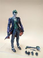 Multicolor origin finishing - LilyToyFirm Play Arts Kai Joker Figure Batman Jack Napier Arkham Origins The Joker with weapon Action Figure Toy Modle
