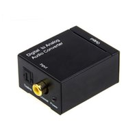 Digital zu Analog Audio Konverter Digital Adaptador Optic Koaxial RCA Toslink Signal zu Analog Audio Konverter RCA