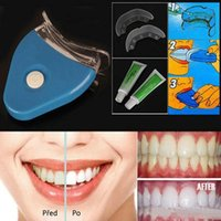Wholesale Wholesale Personal Care Kit - Health Beauty Oral Hygiene Dental Bleaching Lamp White Teeth Whitening Tooth Gel Whitener Oral Care Kit For Personal Dental Brightening EUES