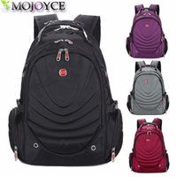 Wholesale New Style Mini Laptop - Wholesale- New 2017 Quality Waterproof Oxford Swissgear Backpack Men 15 inch Laptop Bag Sac A Dos Men Backpacks Swiss Travel BackpackS