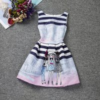 Wholesale China Baby Girl Clothes - children girl birthday party dresses for girls fashion baby girl dress lovely design childrens clothing china