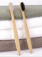 coronas de china al por mayor-Personalizado Nueva Moda Cepillo de Dientes de Bambú Corona Medio Limpiador de Lengua Dentadura Dental Kit de Viaje Cepillo de Dientes MADE IN CHINA ENVÍO GRATIS