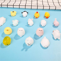 Wholesale japanese novelty toys resale online - Japanese Squeeze Toys Novelty Items Gift Toys Creative Seal Anti Stress Ball Decompression Ball Vent Squeezed TPR Small Animal Gift