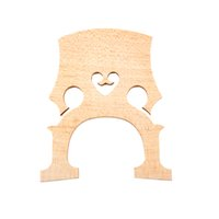 Wholesale Cello Bridge - Wholesale-4 4 Size Cello Bridge Maple Exquisite Workmanship Cello Accessories Free shipping