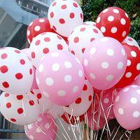 Wholesale Dot Ballons - 20pcs Lot Latex Balloons 12 Inch Polka Dot Wedding Decoration Supplies Minnie Mouse Party Supplies Ballons Multicolor