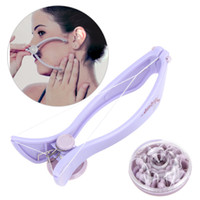 Wholesale Beauty Care System - Women Face Facial Body Hair Threading Remover Clip Defeatherer Body Hair Epilator Threader System Tools Beauty care