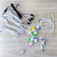 Wholesale Iphone Earphones Lowest - 100pcs Wholesale Disposable earphones headphones low cost earbuds for Theatre Museum School library,hotel,hospital Gift