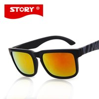 Wholesale Helm Sunglass - Wholesale- Free Shipping Helm Model Story Sunglasses Men Fashion Women Glasses Coating Sunglass 19 Colors gafas oculos de sol dos homens