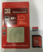 Wholesale Memory 64gb Tablet - 32GB 64GB 128GB no Micro SD TF Memory Card Retail Blister Package micro SD SDHC Card for tablet PC cellphone 12months warranty