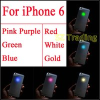 Wholesale Diy Kit For Led - For iPhone 6 DIY LED Logo Light Luminescent LED Light Glowing Logo Mod Kit Replacement for iPhone 6 White Red Blue Green