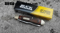 Wholesale pocket knives buck - Buck buck, 382 double - edged, knife - knife, Outdoor, outdoor tools mubingduo knife pocket pocket knife without color box freeshipping