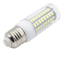Wholesale Led Lights For Candle Chandelier - Edison2011 Free DHL LED Corn Bulb E27 AC220V SMD 5730 LED Light 72 LEDs Led Lamp Light for Home Decoration Chandelier Candle Lighting