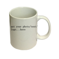 Wholesale Print Coffee Mugs - Personalized Customized printing your photo here 3 Types Newest Design Magic Color Changing Coffee Mug creative Gifts