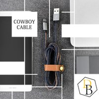Wholesale new usb products - Cowboy Cable Charging Line Fast Speed Data 1mm USB for 6G 7G Micro for Smartphone High Speed New Product