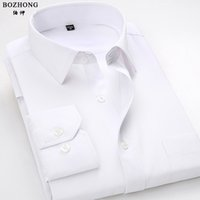 Wholesale Types Collars Dresses - Wholesale- The new spring 2016 men's shirts men long sleeve cultivate one's morality type business dress shirt