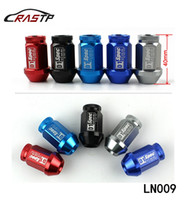 Wholesale Nissan Race - RASTP -M12X1.5 Universal Racing Wheel Lug Nuts Fit for Nissan Subaru Infiniti L:40MM Titanium Have In Stock RS-LN009