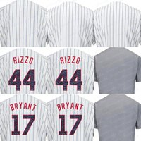 Wholesale numbers stars - Customized 2017 Stars and Stripes Men's Chicago Jerseys #17 Bryant #44 Rizzo White Any Name Any Number Stitched