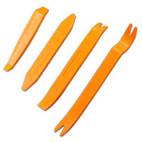 Car Plastic Trim Removal Tools Set Abra Panel Radio Puerta Clip Automóvil Dash Audio Removedor Pry Prying Reparación 4Pcs / Set