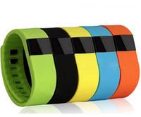 ingrosso tracker fitness fitness smart band tw64-Braccialetto intelligente TW64 Bluetooth 4.0 Fitness Activity Tracker Band Wristband Smartband Orologio sportivo Non Fitbit Flex Fit Bit ios TW 64