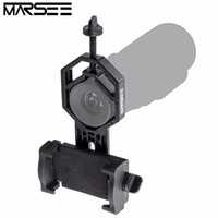 spot scope - Phone holder Universal phone stand Telescope Binocular Monocular Spotting Scope Microscope Adapter for iphone samsung s8