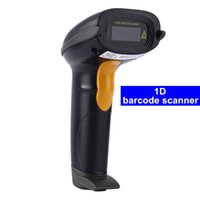 Wholesale Barcode Reader Automatic - Automatic-Sensor laser Barcode Scanner Barcode Reader YHD-8100 One Dimensional Cable Handheld Bar Code Scanner High Resolution Scanner