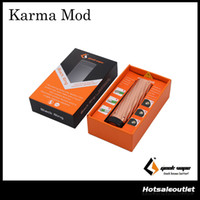 Wholesale Make Code - Authentic GeekVape Karma Mechanical MOD W O Battery with Elegant Design and Made of High Grade Copper from Geekvape with Code