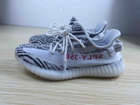 Wholesale Womens Flat Boots Wholesale - Original 350 Boost V2 Kanye West CP9654 Zebra Mens Womens CP9366 Cream White Sneakers CP9652 Black Red Running Shoes