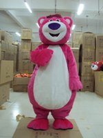 Wholesale Brown Grizzly Bear Costume - Best Quality Masha And the Bear Mascot For Adults Ursa Grizzly Mascot Costume Cartoon Character Fancy Party Dress