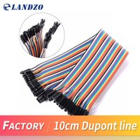 Wholesale Arduino Male Female - Dupont line 120pcs 10cm male to male + male to female and female to female jumper wire Dupont cable for arduino
