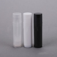 Wholesale cooler plastic containers for sale - Group buy 5g Empty Clear LIP BALM Tubes Containers Transparent Lipstick fashion Cool Lip Tubes Refillable Bottles Cosmetic pieces