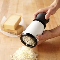 Wholesale Cheese Grater Handheld Grinder Mill Baking Tools Kitchen Gadget By Hand Cheese Slicer Cheese Cutter Tools ZA2929