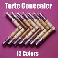 Wholesale Different Size Women - Fashion tarte Concealer With 12 Different Colors Skin Concealer Cream with 30g for Women Choose Free Shipping