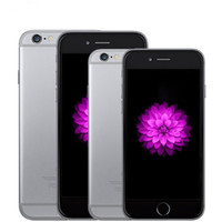 iphone 64gb kilidi toptan satış-Orijinal Yenilenmiş Apple iPhone 6/6 ARTı iPhone 6 IOS 10 1 GB RAM 16G 64G 128G ROM GSM WCDMA LTE Unlocked Cep Telefonu Mühürlü kutu