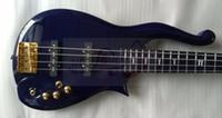 gül ağacı kutuları toptan satış-Üst Satış Elmas Serisi Prens Bulut 5 strings 4 strings Elektrik Bas Gitar 9 V Pil Kutusu Beyaz Siyah Mavi Mor Çok Renkli Mevcut