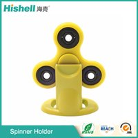 Black sports display rack - New hand spinner finger tip gyro bracket creative EDC desktop Ferris wheel plastic gyro support Display rack hardware gyro