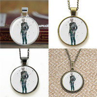 Wholesale doctor print for sale - Group buy 10pcs TTardis Doctor Who Silence Art Print the eleventh doctor Necklace keyring bookmark cufflink earring bracelet