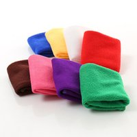 Wholesale Hot Water Cleaners - Hot Cleaning Cloth 25*25cm Fast Drying Water Uptake Auto Clean Towel Superfine Fiber Kitchen Cleanliness Beauty Salon Towels IC799