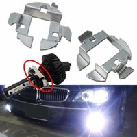 Wholesale Saab Hid - 10x H7 Xenon HID Bulbs Adapters Holders For Audi A6 BMW X5 5 Mercedes-Benz Saab 100% Brand New and Good quality